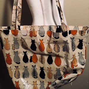 Ulster Weavers Bags - Ulster Weavers Vintage Cats in Waiting Bag EUC 5204cba06028f